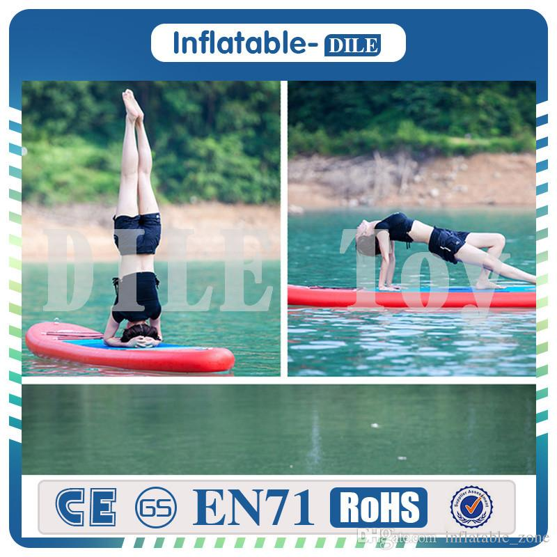 305x76x15cm Inflatable Stand Up Surfboard Surfing Board Water Sport Sup Board with Paddle Pump