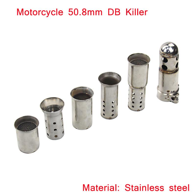 universal db killer exhaust system modified 51mm motorcycle exhaust muffler pipe db killer. Black Bedroom Furniture Sets. Home Design Ideas