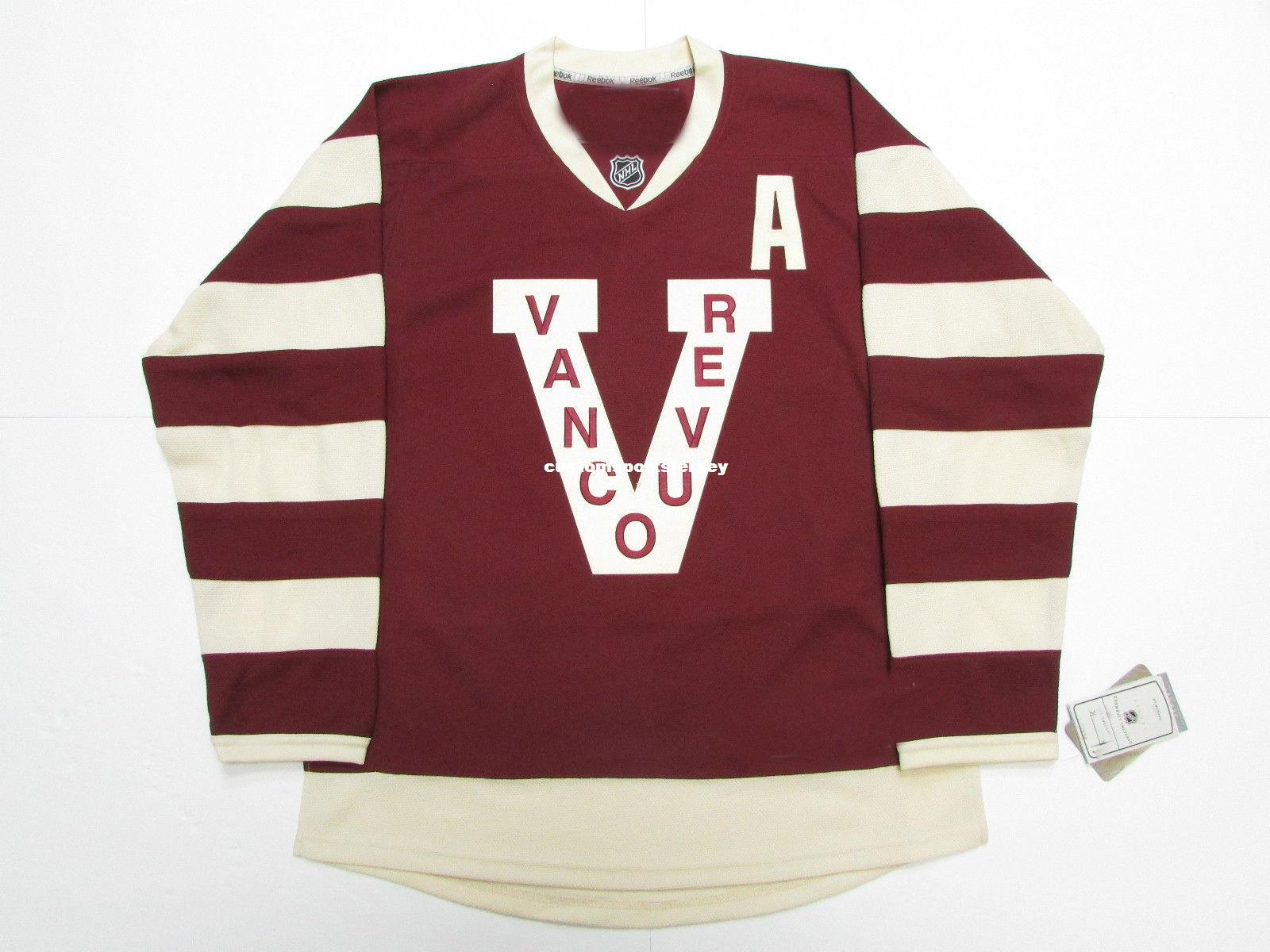 2019 Cheap Custom DANIEL SEDIN VANCOUVER CANUCKS MILLIONAIRES PREMIER  HOCKEY JERSEY Stitch Add Any Number Any Name Mens Hockey Jersey XS 5XL From  ... 1971304c0