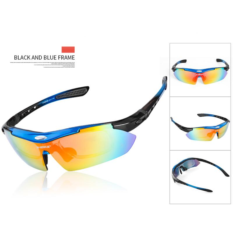 d6c45a7416b 2019 INBIKE Polarized Cycling Glasses With 5 Lens Clear Bike Glasses ...