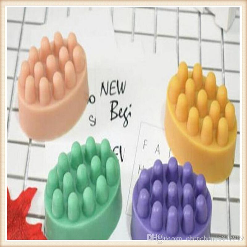 New arrive massage soap molds mousse Cake Mold Silicone Mold For Handmade Soap Candle Candy chocolate baking moulds kitchen tools ice molds