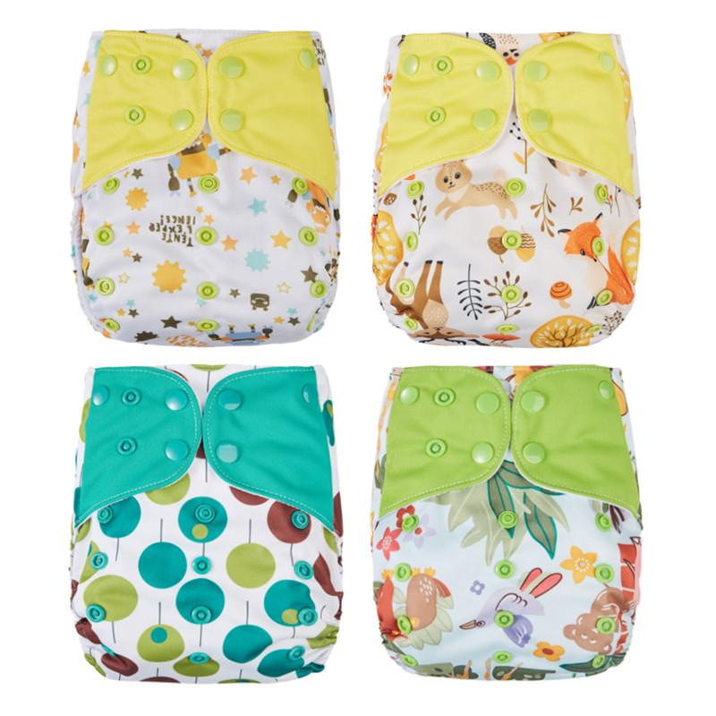 52d8f0333 Thank U Mom Washable Cloth Diaper Cover All in One PUL Fabric Baby ...