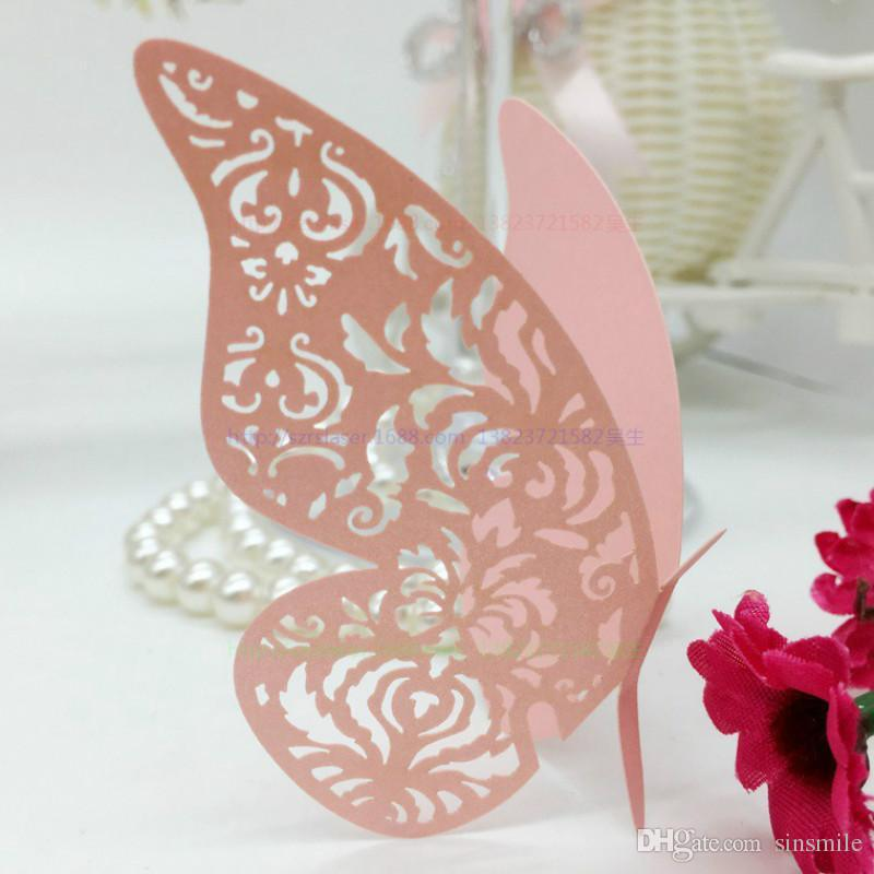 Wholesale butterfly paper place escort cardcup cardwine glass card wholesale butterfly paper place escort cardcup cardwine glass card for wedding decoration table decoration accessories 5zcd014 sister birthday cards junglespirit Image collections