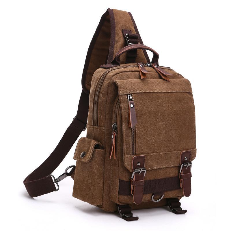 6ec0e135a559 Fashion Shoulder Bags Women Cross Body Messenger Bag Waterproof Shoulder  Backpack Travel Rucksack Canvas Sling Bag Leather Bags Designer Purses From  Vv girl ...