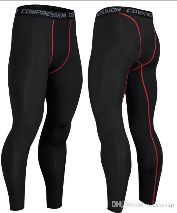 Compression Pants Sports Running Tights Basketball Gym Pants Bodybuilding Joggers Skinny Leggings Trousers Full Length Outdoor Pants