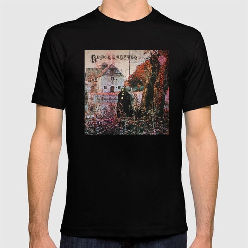 a633ed7a Black Sabbath First Album Cover T Shirt Official T Shirt New ,T Shirt Top  Tee, Mens 2018 New Tee, Online T Shirts Buy In T Shirts From Adidastshirt,  ...