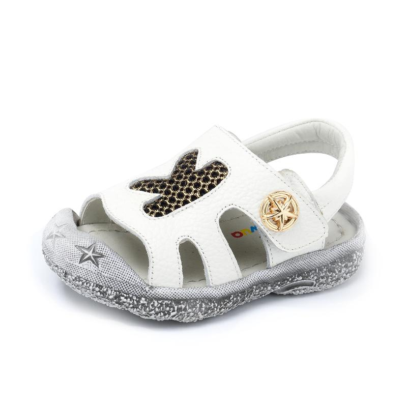 b3df2417e5 Wua Wua Summer Closed Toe Toddler Boys Sandals Genuine Leather Kids Walkers  Shoes Infant Soft Beach Baby Boy Child Sandal Shoes Sneaker For Kids Boys  Sandle ...