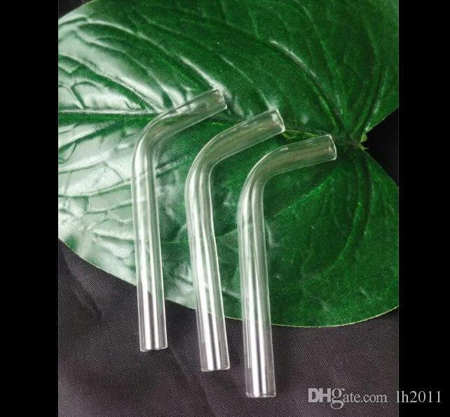 Novo bico de sucção de vidro, Atacado Bongos Queimador de Óleo Tubos De Vidro Tubos De Água Tubulação De Vidro Plataformas de Petróleo Fumando Frete Grátis