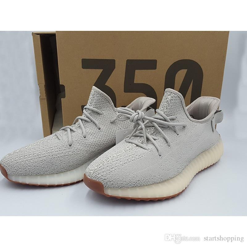 b4abae68708 Sply 350 V2 Zebra Beluga 2.0 Men Sports Shoes Orange Grey Bred ...