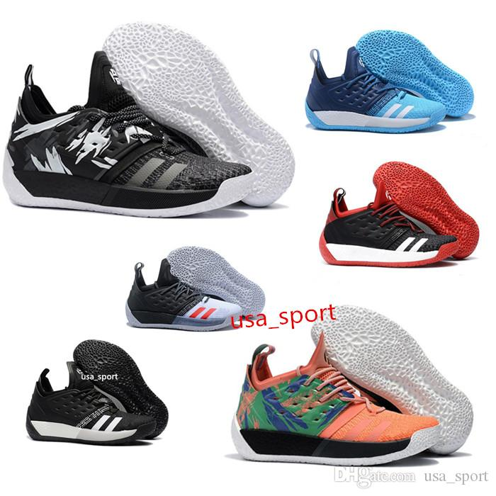 James Harden Shoes 2019: 2018 HarDen Vo2. 2 BHM Black History Month Basketball