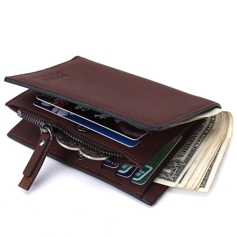 55d44ff046a1 Fashion Men Wallets With Coin Pocket Small Wallet Purse For Men Clutch  Business Male Wallet Magic Vintage Luxury Purse828 Pierre Cardin Wallet  Black Wallet ...
