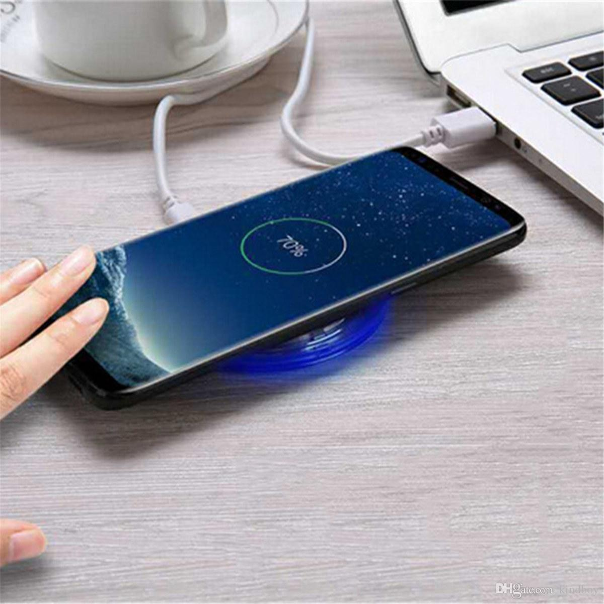 Qi Standard Wireless Charger Wireless Charging Pad For iphone 8 iphone 8 plus Samsung Galaxy S8 / S7 Note 8