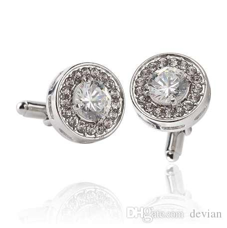 Tie Clips & Cufflinks 2017 Wholesale Viking Norse Cufflinks Viking Norse Cuff Link Glass Silver Men Cufflinks High Quality High Quality And Inexpensive