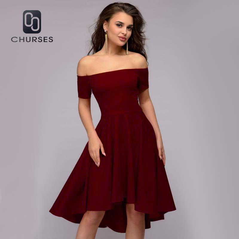 Descubiertos A La Midi Con Hombros 2018 Vestidos Moda Compre 0qpxg4p