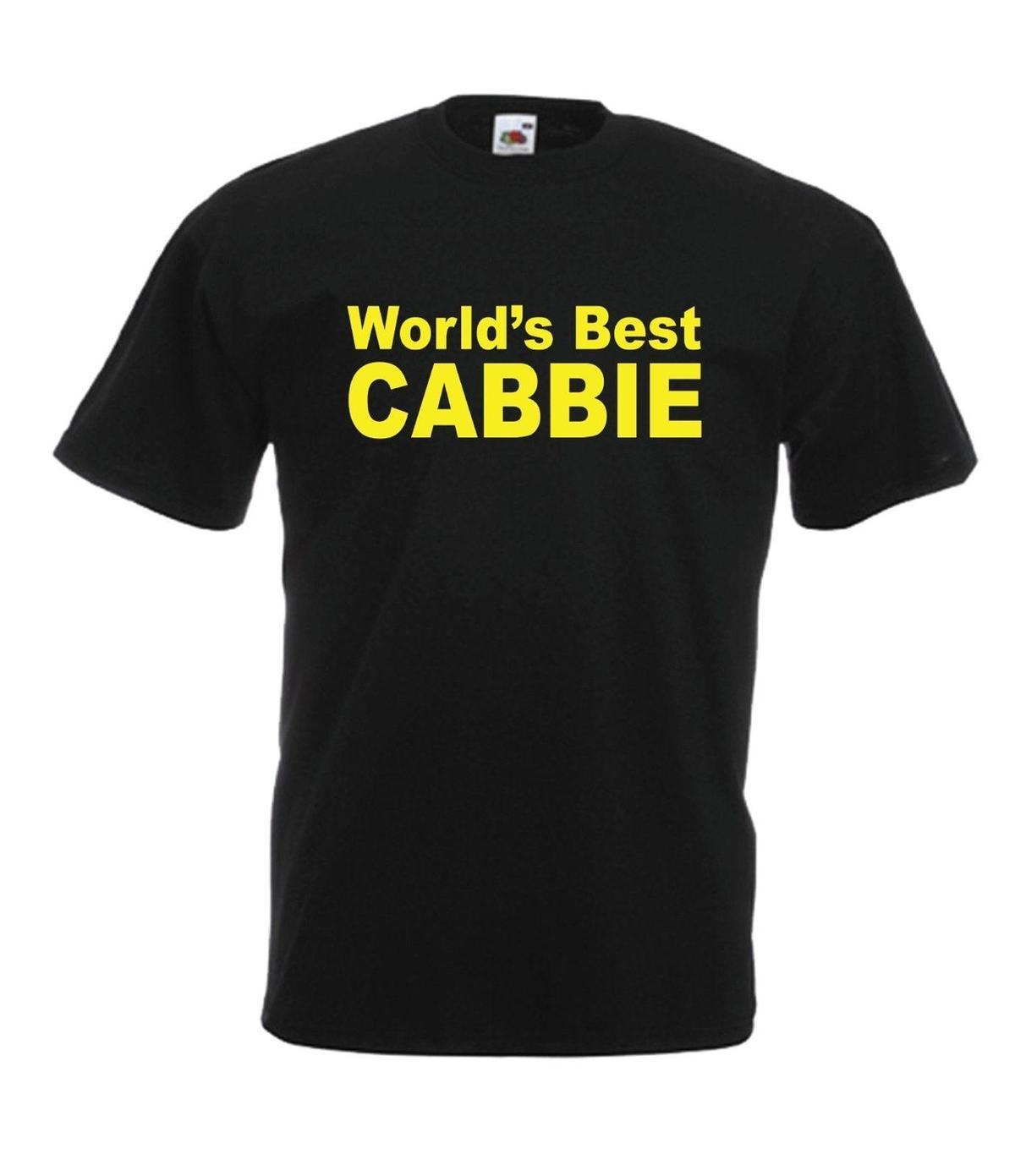 WORLDS BEST CABBIE Taxi Driver Christmas Birthday Gift Ideas Mens Womens T SHIRT Shirt Of The Day Buy Tshirts From Liguo01 1208
