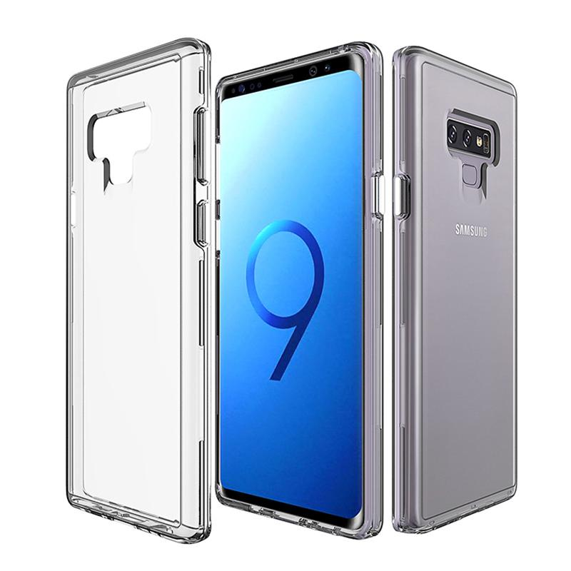 save off ba277 e4491 For Samsung Galaxy Note 9 Case Transparent Clear Hybrid Bumper Shockproof  Case Cover Phone Cases For Samsung Note 9 S9 S9plus