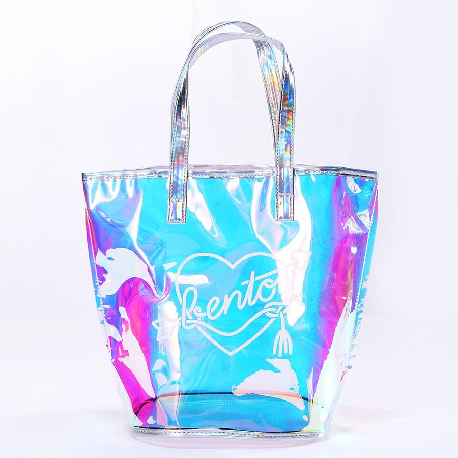 9d69119dfd2938 Bentoy New Fashion Casual Girl Large Capacity Tote Hologram Laser Shoulder  Bag Shopping Bag Summer Beach Ladies Bags Women Black Bags Crossbody Purse  From ...