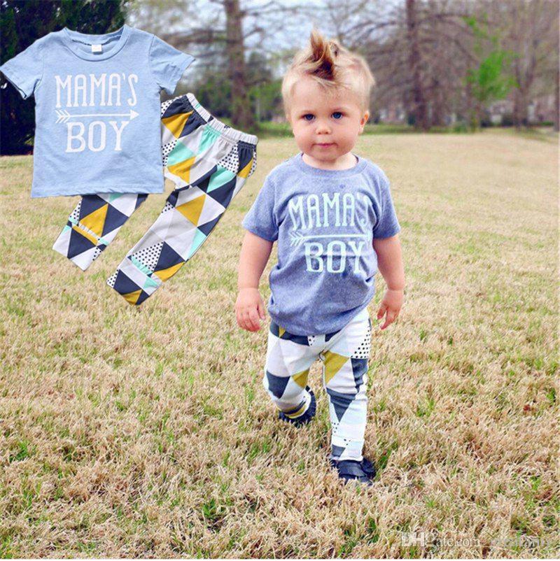 0121a8d2d 2019 Summer 2018 Newborn Baby Boy Clothes Short Sleeve Cotton T ...