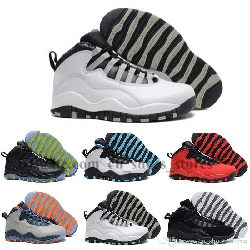 2018 Cheap Man Basketball Shoes 10 X Chicago Steel Grey Powder Blue