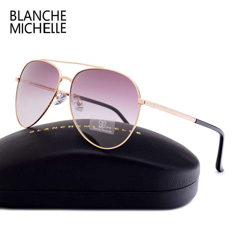 86fe38c347 2018 High Quality Unisex Pilot Polarized Sunglasses Men Women UV400 Sunglass  Gradient Lens Sun Glasses With Box Online with  67.5 Piece on Out2040 s  Store ...