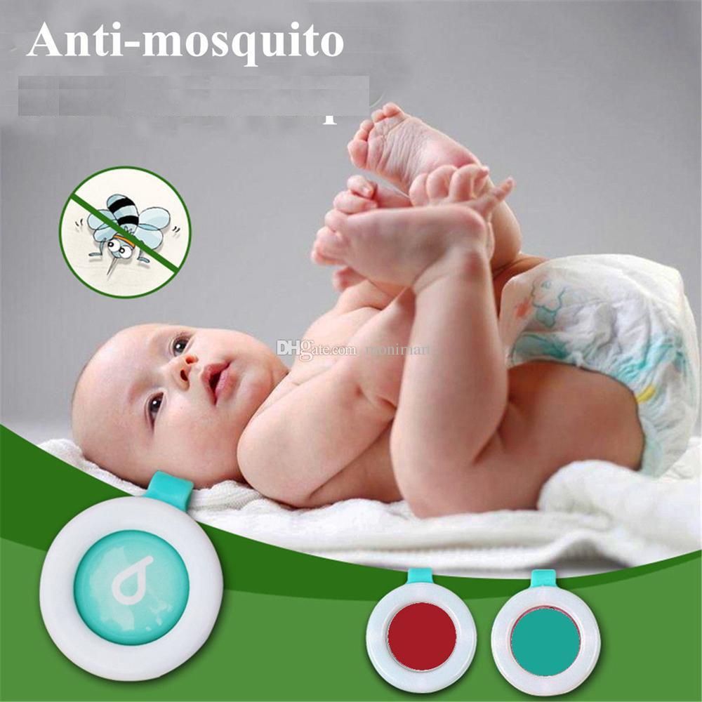 Anti Mosquito Bug Buckle Pest Repel Clip Repellente insetti Outdoor Baby Kids Gravida Maternità Controllo dei parassiti Zanzara Repelle DHL