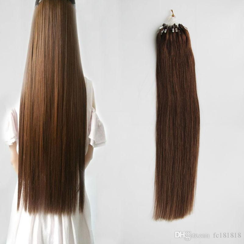 Micro Ring Extensions 1gstrand 100g Micro Loop Hair Extensions