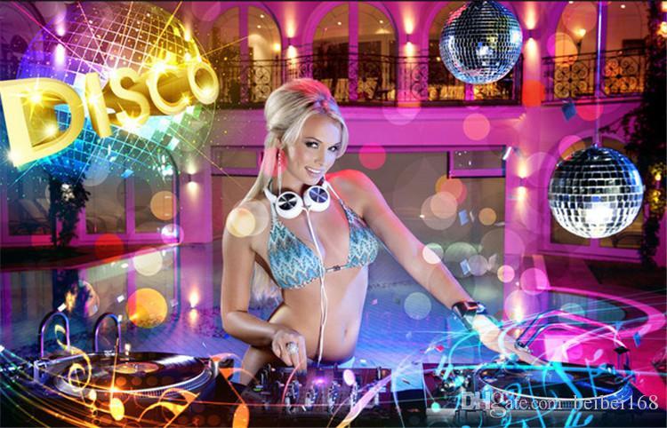 KTV box wall cloth bar nightclub bag long legs sexy dancer large poster mural underwear beautiful wallpaper