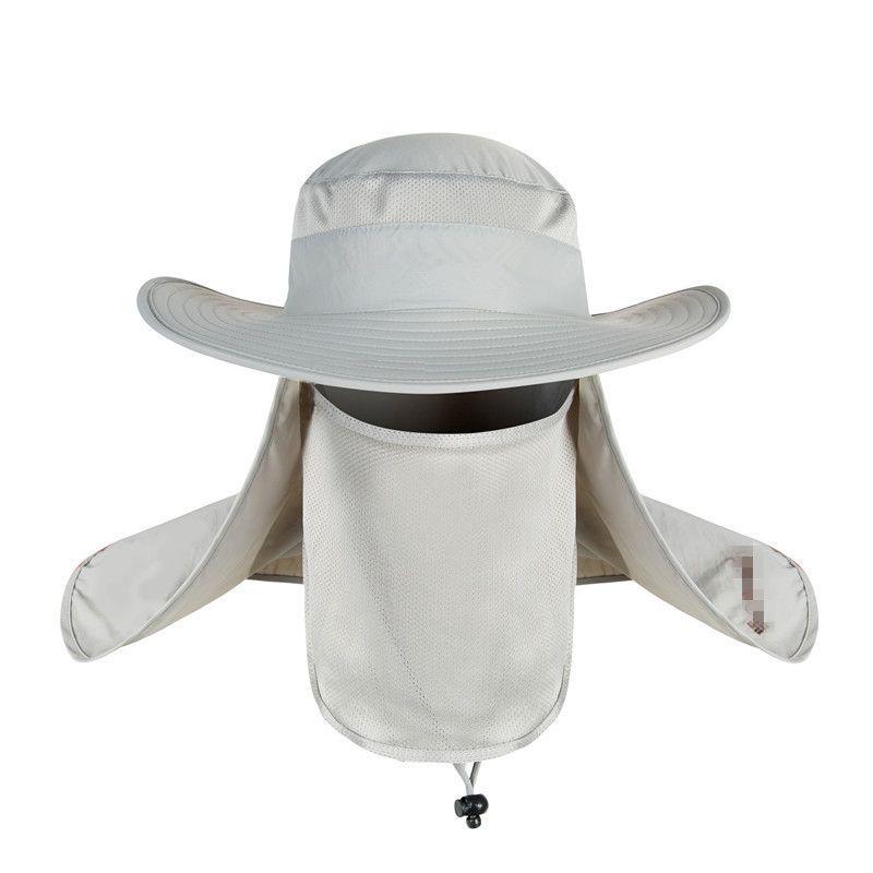 4665a71e9ed Fisherman Cap Waterproof Big Bucket Hats with a Wide Brim New Summer ...