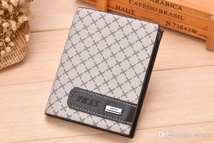 Men's Leather Fashion Business Wallet Short MT Clip MB Premium Gift Bag Credit Card Holder Pocket Photo M B High Quality Small Wallets
