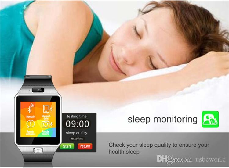 DZ09 Montre Smart Watch Dz09 Montres Bracelet Android Montre Smart SIM Intelligent Téléphone Mobile État de Veille Montre Smart Watch Berceau Conception