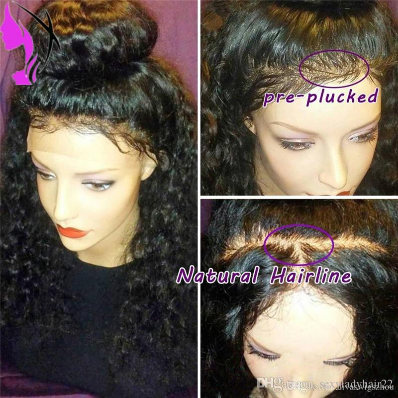 Hot Selling free part loose Curly Lace Wigs Black full density short Curly Synthetic Lace Front Wig with baby hair
