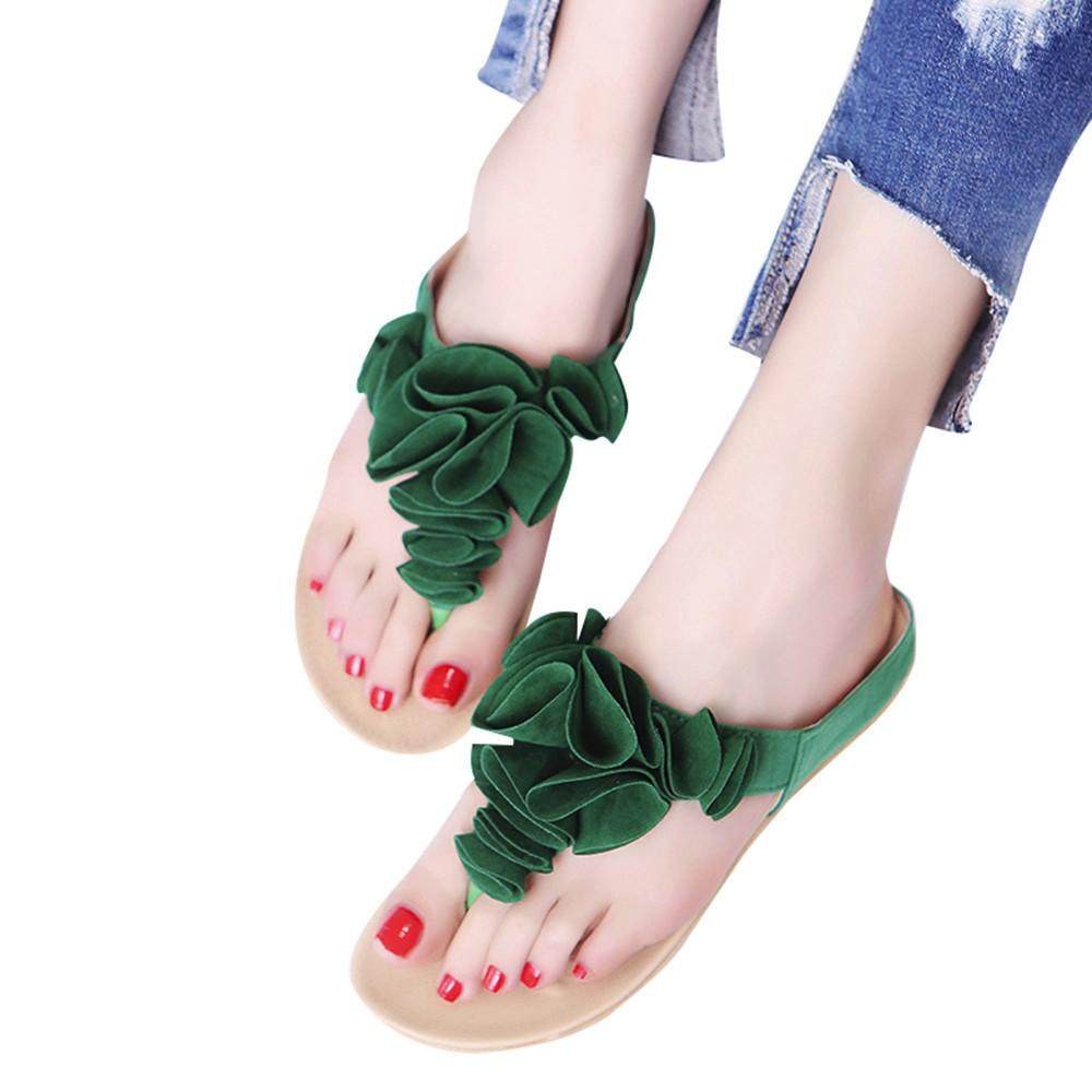 2205bf4127 Summer Fashion Women'S Sandals Lady Pretty Flora Shoes Women Sandals ...