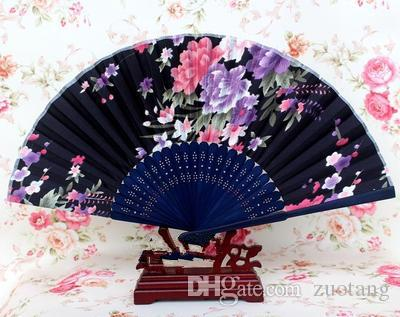 Portable japonais tissu ventilateur de main