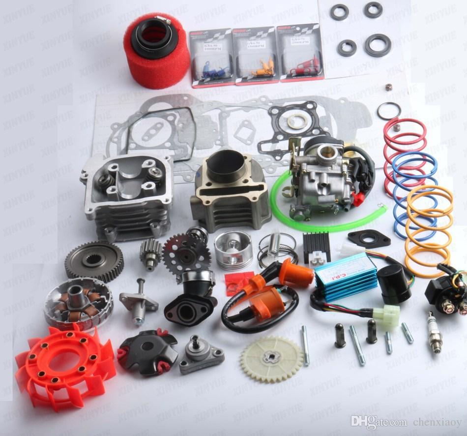 100cc Big Bore Kit Performance Cam Performance CDI & Coil GY6 139QMB 50mm