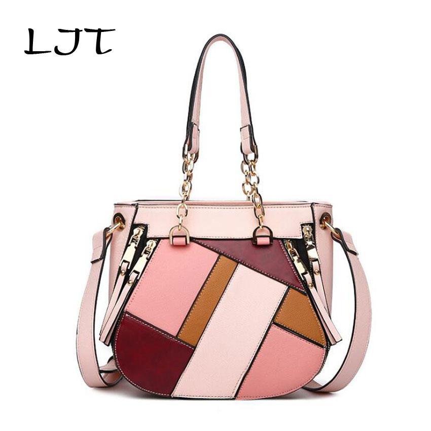 2018 New Listing Luxury Handbags Women Famous Brand Designer Shoulder  Messenger Bag Custom Stripe Tote Bag Bolsas Feminina Shoulder Bags For Men  Fiorelli ... 5fb5b7c6db66f