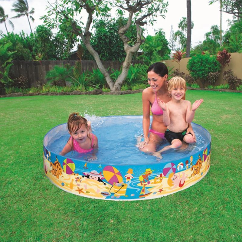 Plastik Pool satın al intex snapset kiddie havuzu plastik yüzme wade Çocuklar
