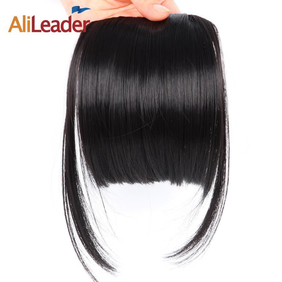 Aus Dem Ausland Importiert Brasilianische Menschliches Haar Stumpfen Pony Clip In Menschenhaar Verlängerung Natürliche Schwarz 100% Reines Haar Produkte Sie Kann Haarverlängerung Und Perücken Haarteile