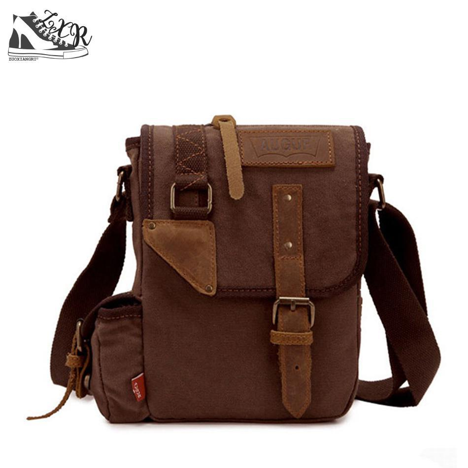 Zuoxiangru Vintage Shoulder Bag Men Canvas Messenger Bags School Satchel  Business Packs Travel Crossbody Bag Leisure Pack Crossbody Purse Cute Purses  From ... d212f2403263e