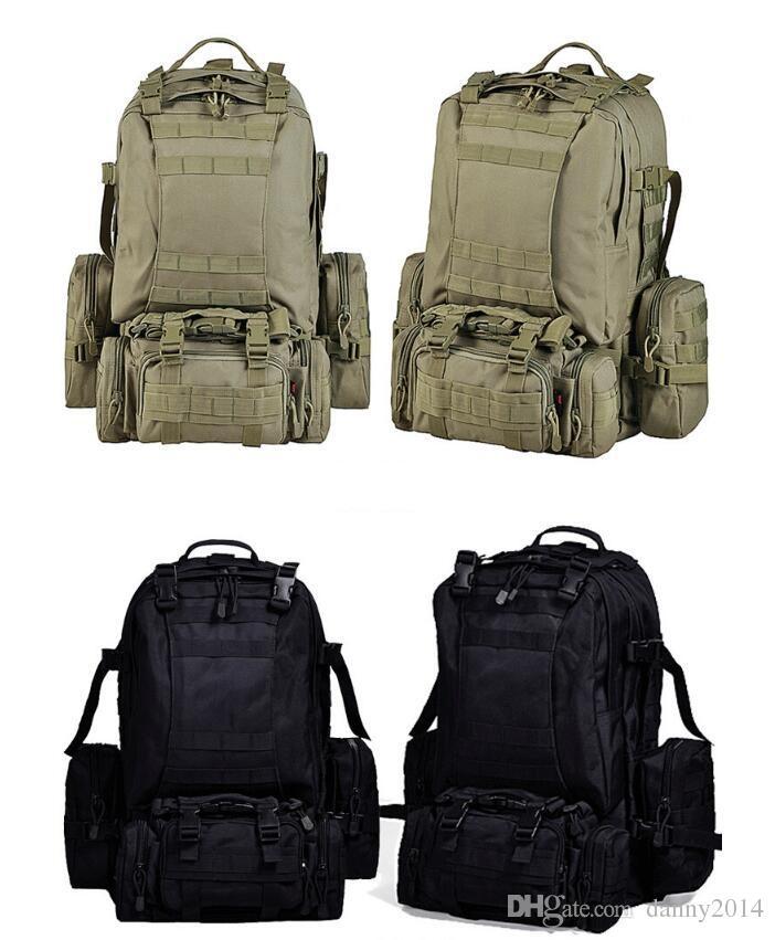 Multi-Funktions-Tactical Taschen Camo Jagd Umhängetasche Outdoor-Camping Wandern Traving Rucksäcke mit hohen Kapazität Rucksack Kombination Taschen