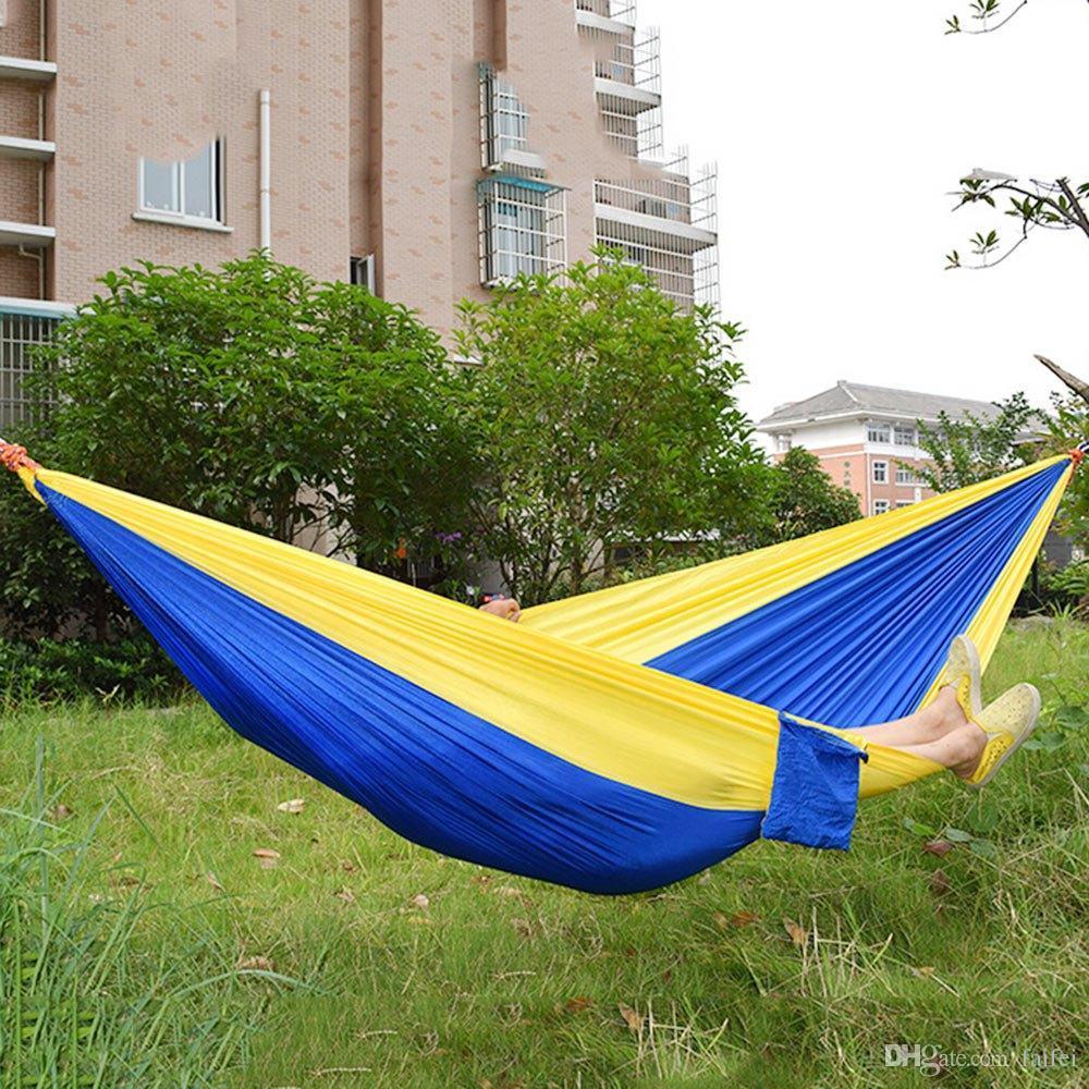 ful 2 people hammock camping survival garden hunting leisure travel