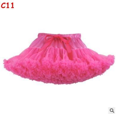 Neonate Tutu Gonna Ballerina Pettiskirt Layer Fluffy Bambini Ballet Gonne la festa Dance Princess Girl Tulle Minigonna Boutique