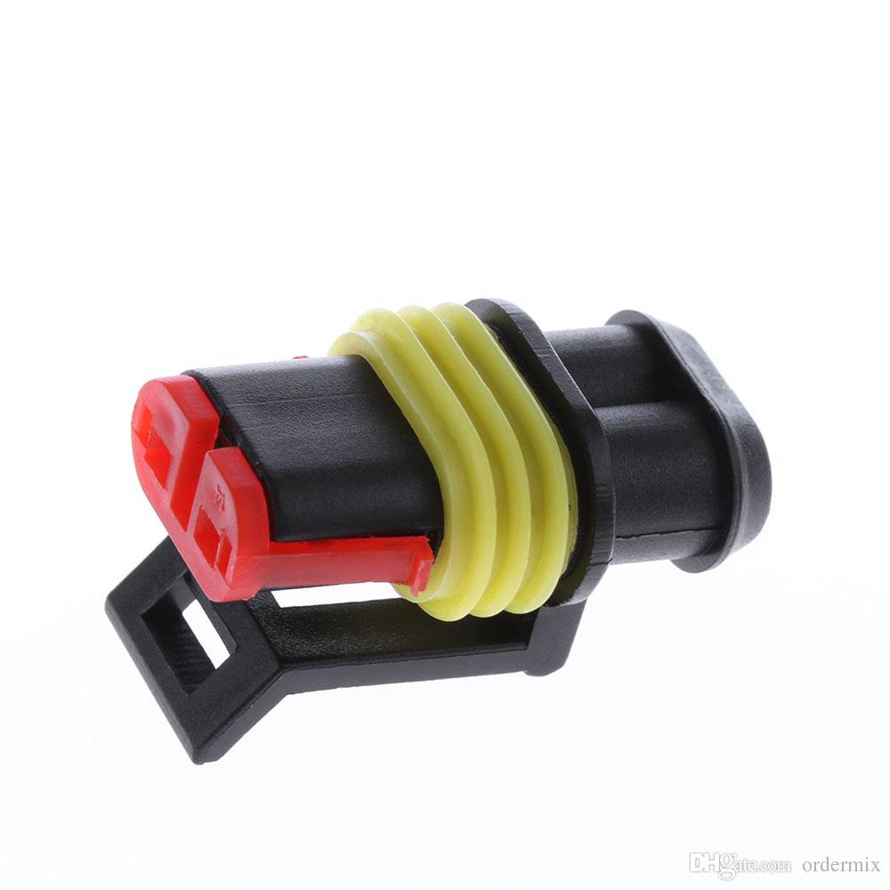القادمون الجدد! السيارات موصل التوصيل جزء السيارة عدة مختومة الأسلاك الكهربائية للماء