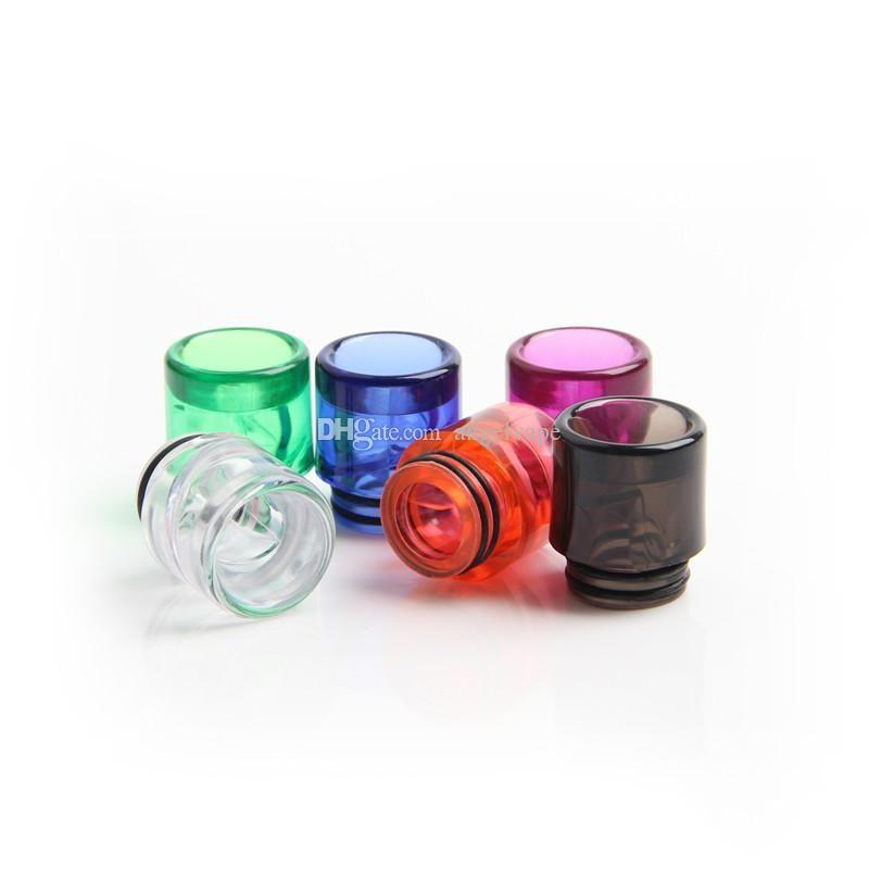 colorful plastic 810 drip tips for e cigs kennedy rda drip tip vape tanks 810 thread atomizers tfv8 mouthpiece new inventions