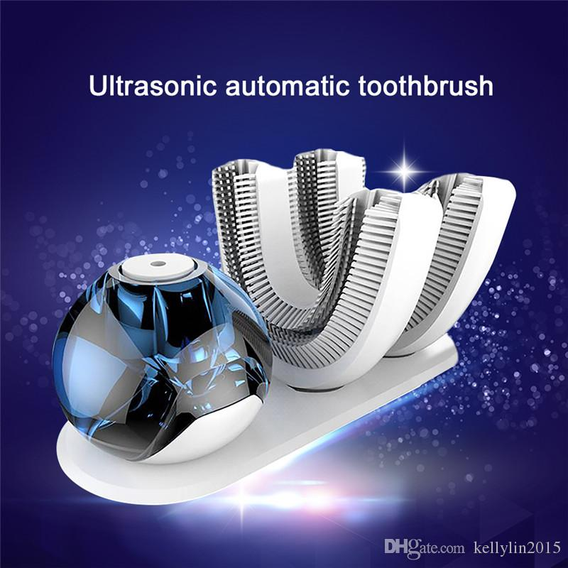 Automatic Electric Toothbrush Amabrush 15 Seconds Sonic Teeth brush Household Adult Wireless Charging Lazy Toothbrushes Hygiene Oral Care