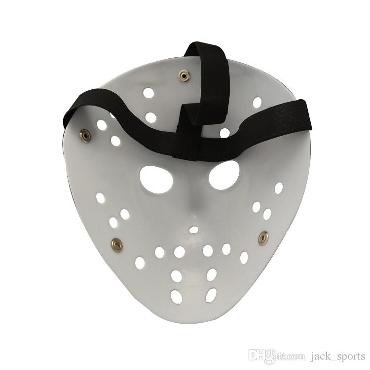 White Jason Porous Men Mask Horror Movie Hockey Scary Masks For Halloween Party and Masquerade Costumes