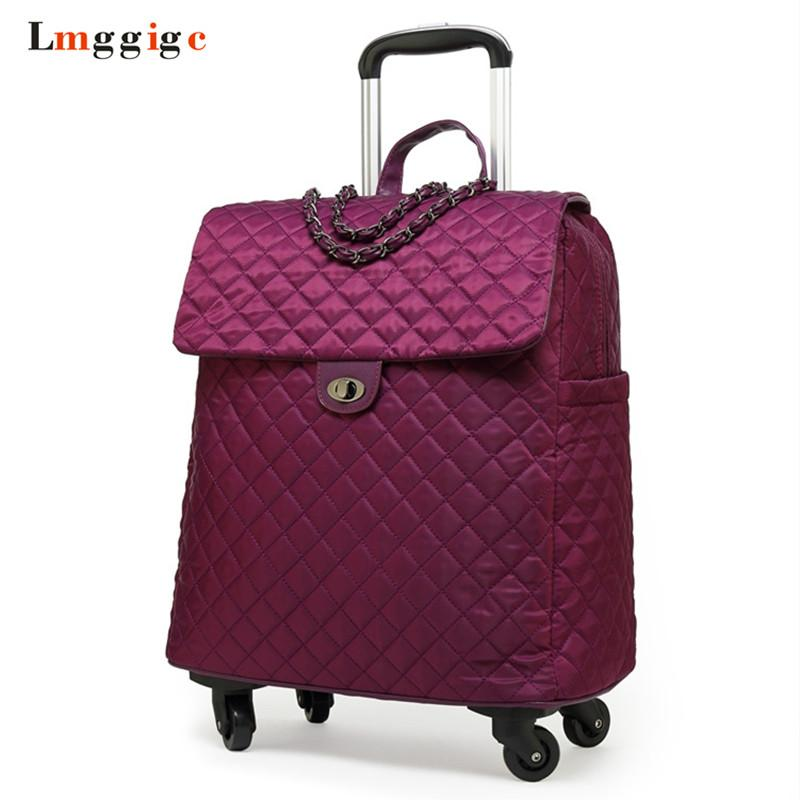 92da1d84119 Women s 20 Inch Suitcase, Cabin Luggage Bag, Travel Case with ...