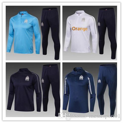b237480c 2019 HIGH QUALITY 2018/19 Olympique De Marseille Training Suit Kits Soccer  Jersey L.GUSTAVO GOMIS CABELLA PAYET Marseill Football Shirt TRACKSUIT From  ...