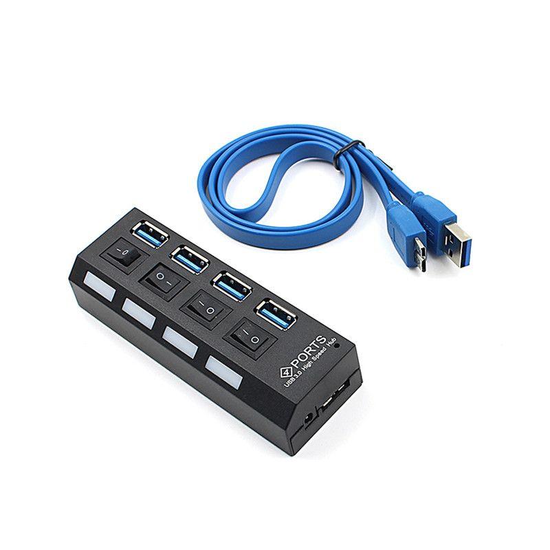 купить оптом 5 гбит с 4 порта Mini Usb 30 Hub с Separete