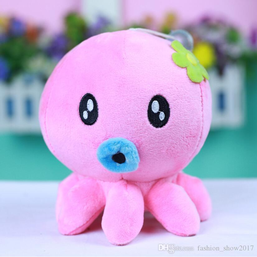 Cute Octopus Plush Toys Small Plush Pendant Stuffed Animal Plush Toy Home Decoration Kids Pillow Birthday Gift Phone Pendant