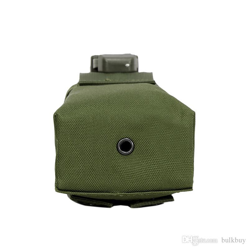 Neue Outdoor Sports Jagd Militärische Taktische Airsoft Paintball Molle Radio Talkie Wasserflasche Kantine Tasche